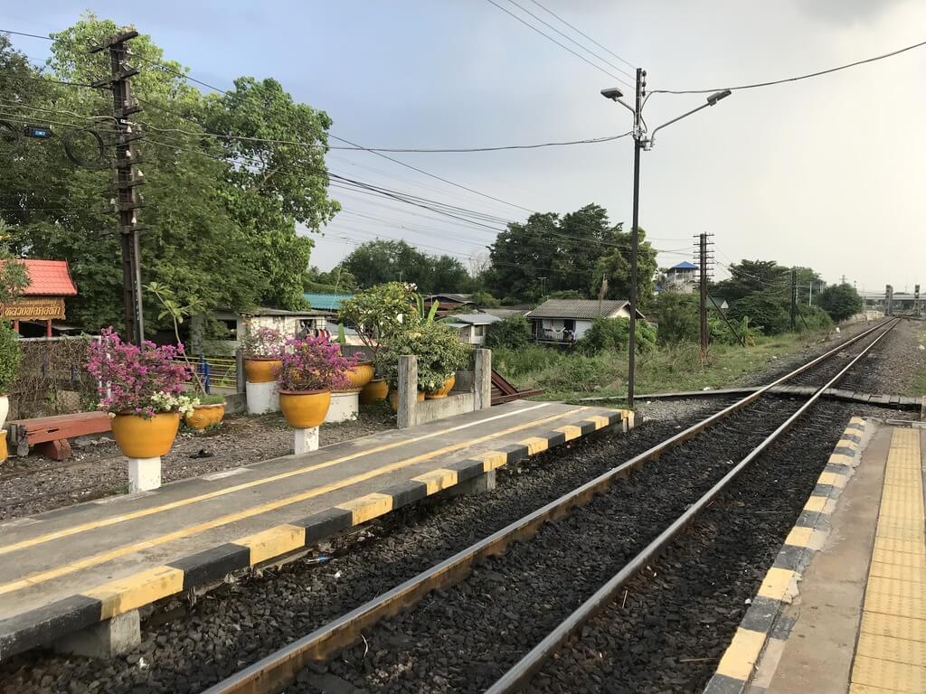 Estación de tren de Ayutthaya