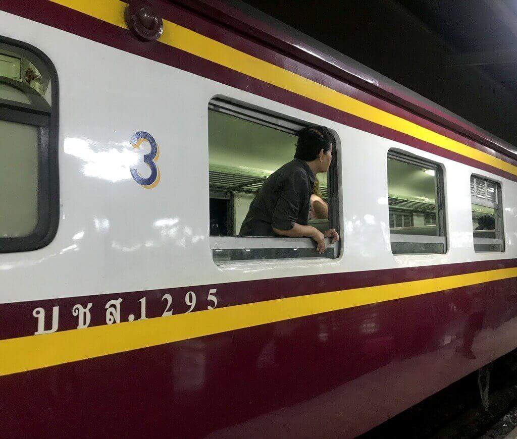 Nuestro tren (tercera clase sin aire acondicionado)