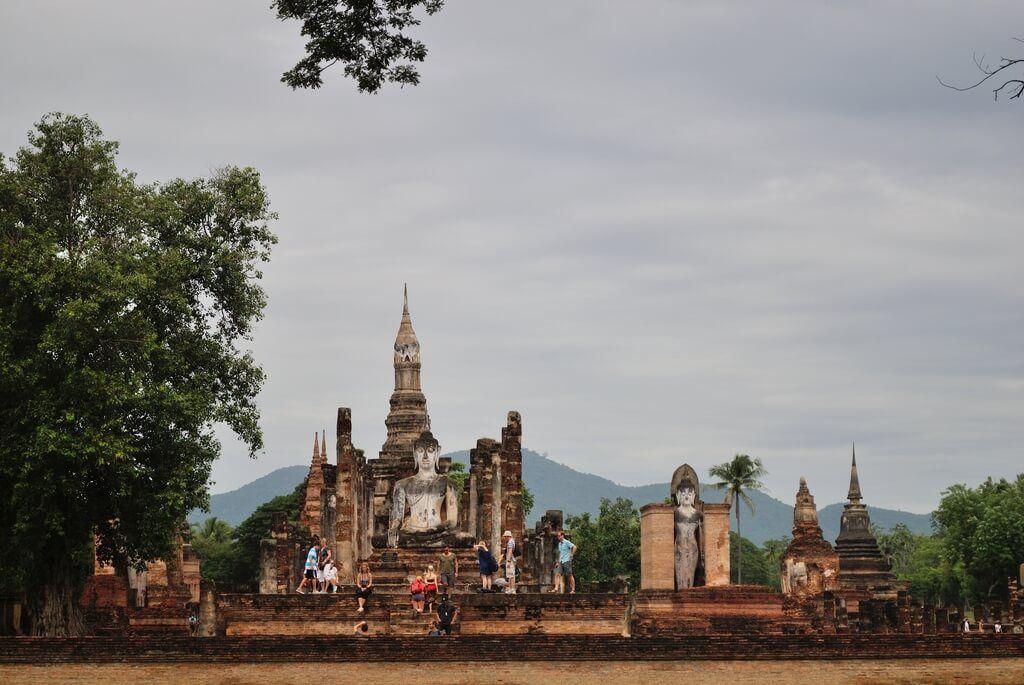 Panorámica general del Wat Mahathat