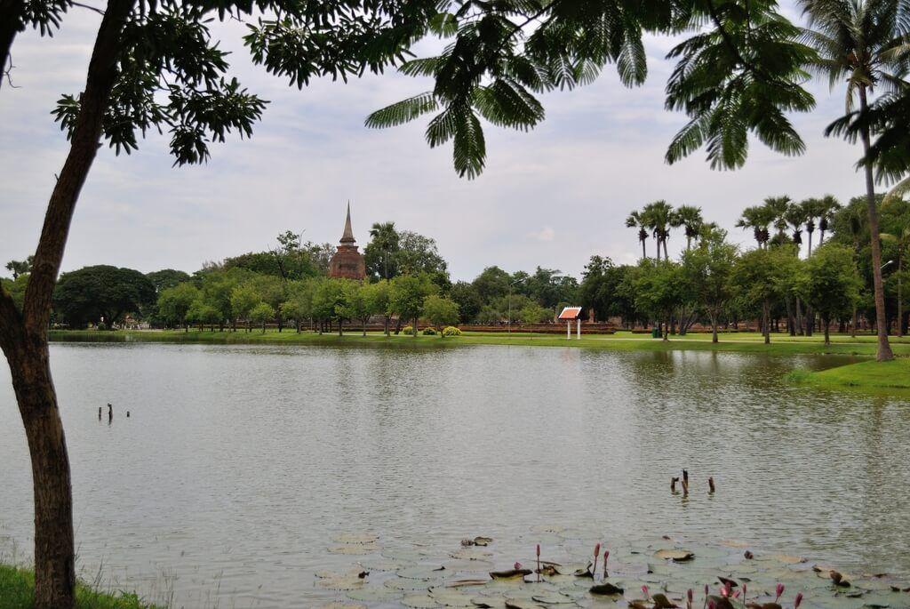 Isla donde se encuentra el Wat Sa Si