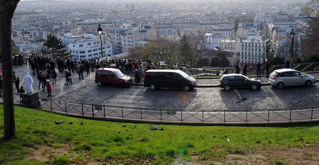 Vistas desde el mirador de Montmartre