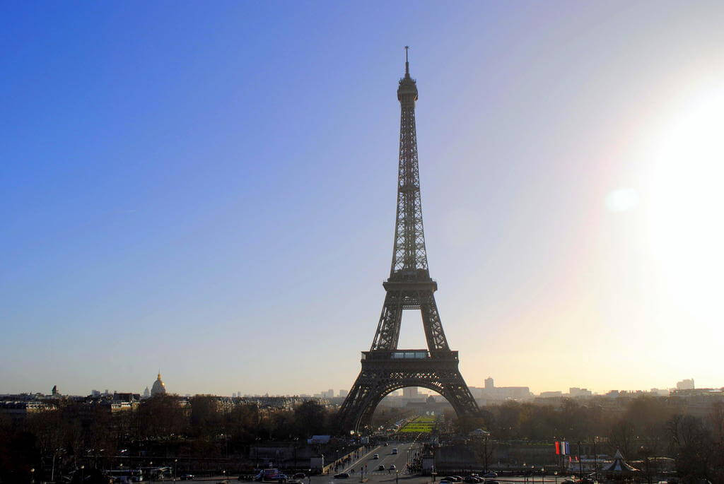 La Tour Eiffel desde la Plaza de Trocadero