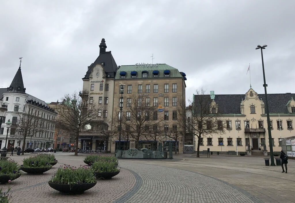 Plaza Stortorget de Malmö