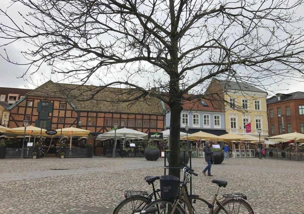 Edificios de colores en Lilla Torg