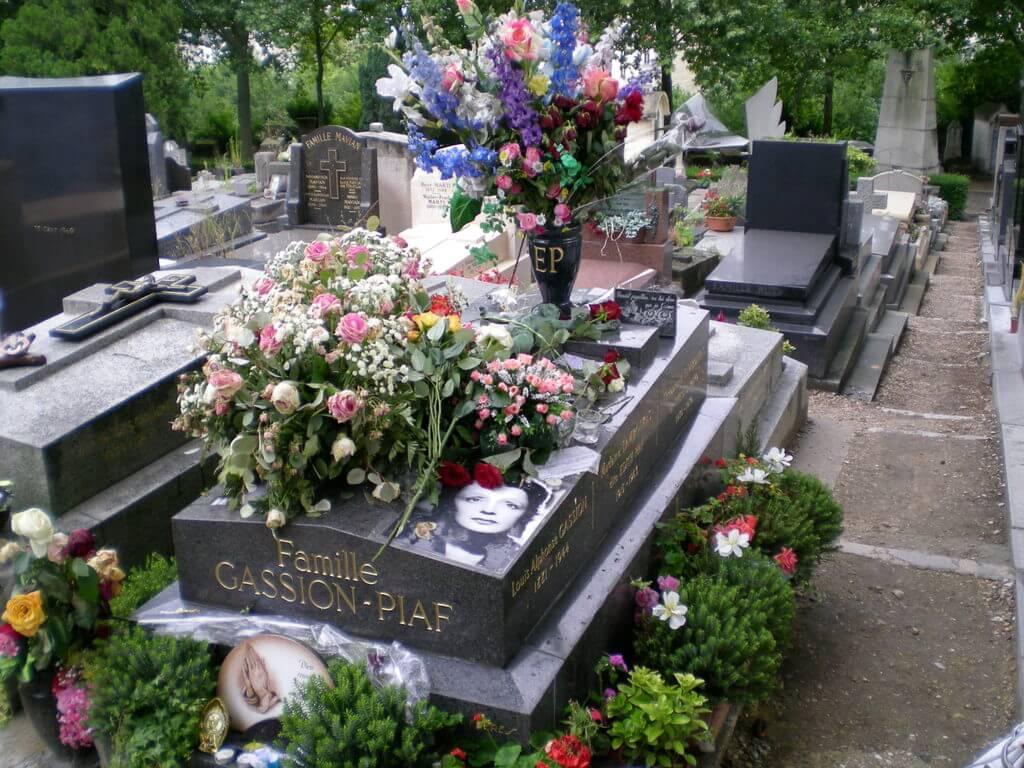 Tumba de Édith Piaf