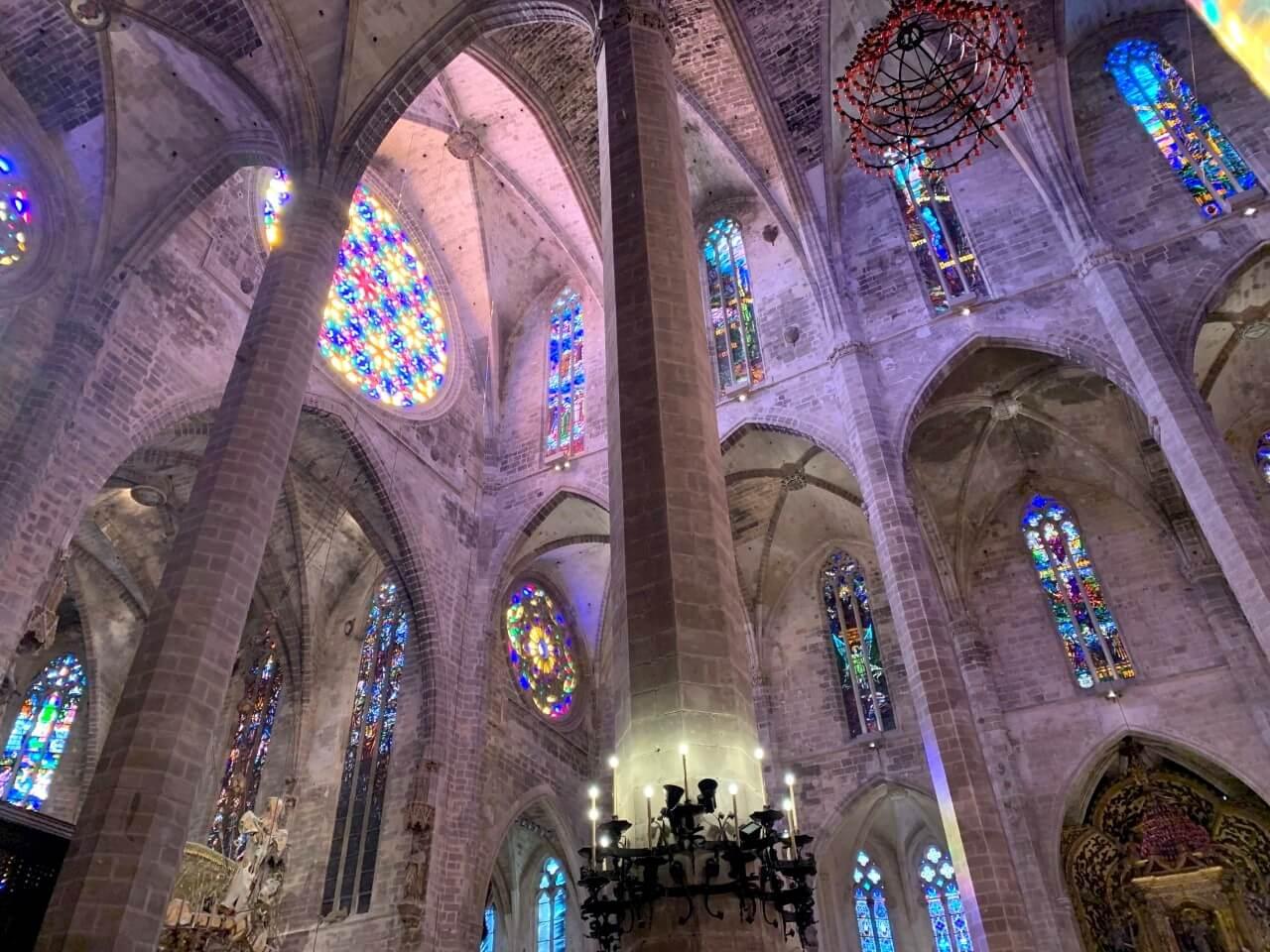 Interior Catedral de Palma