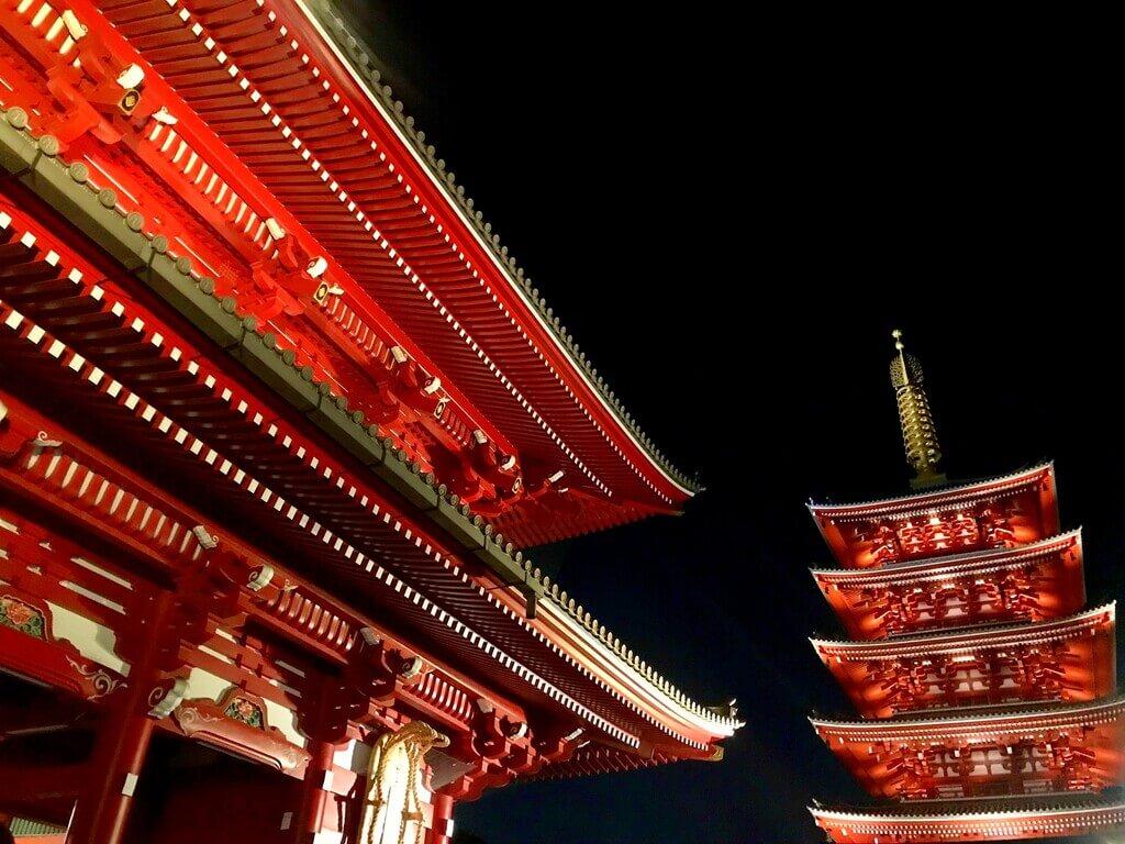 Pagoda de cinco pisos del templo Senso - Ji