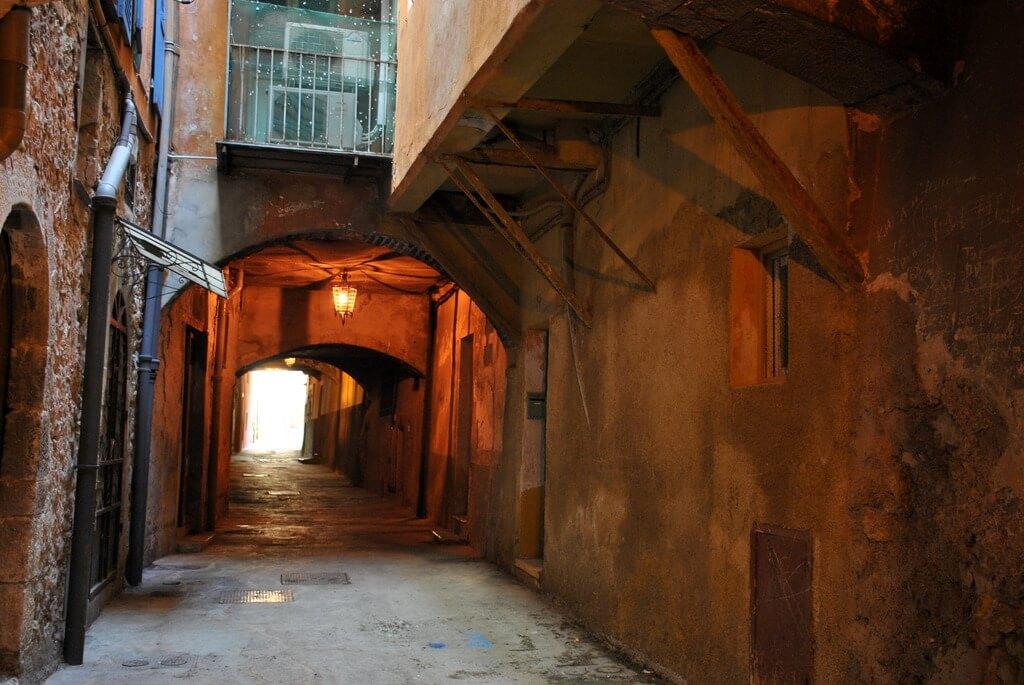 Interior de la Rue obscure