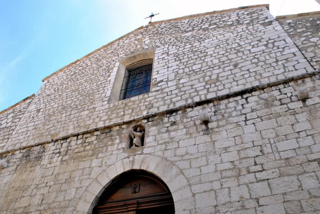 Fachada de la Iglesia de Saint Paul