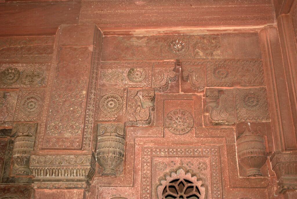 Decoración Jahangiri Mahal