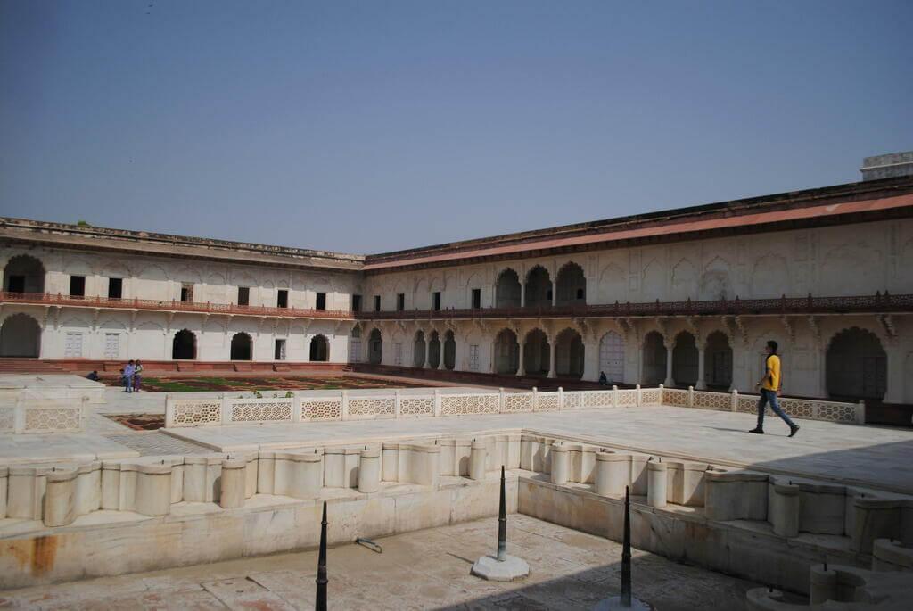 Interior del Khas Mahal