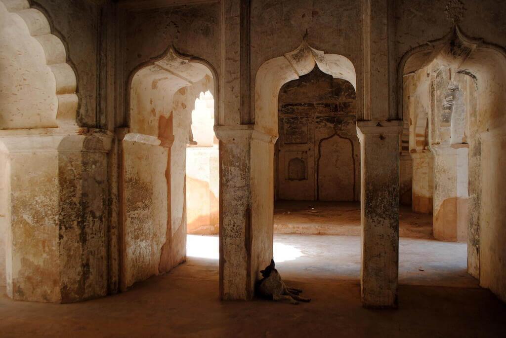 Pasaje interior Raj Mahal
