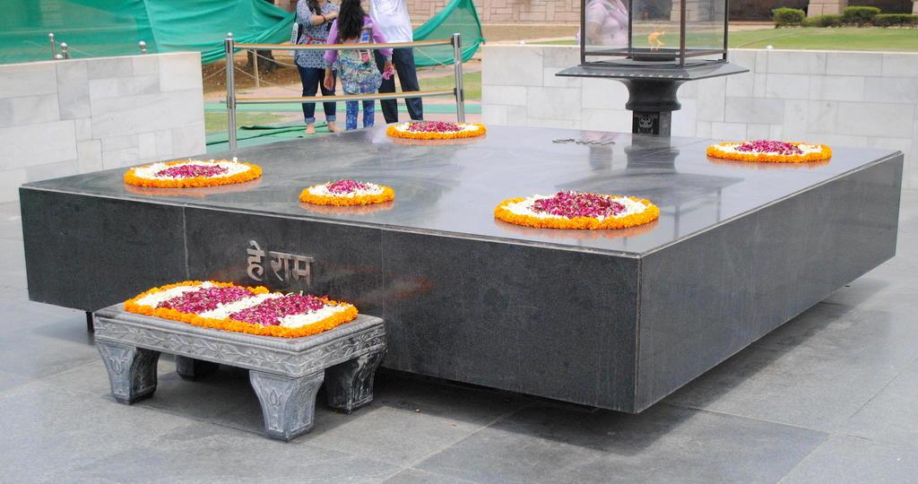 Llama eterna del Raj Ghat