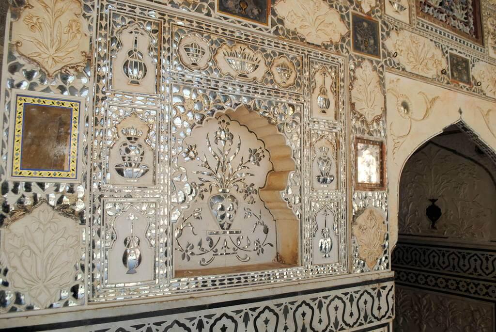 Decoración exquisita del Diwan-i-Kash