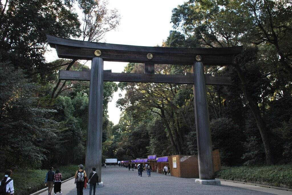 Entrada al Santuario de Meiji