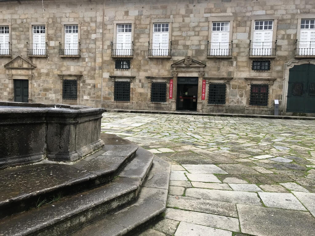 Plaza donde se encuentra el Palacio Episcopal de Braga