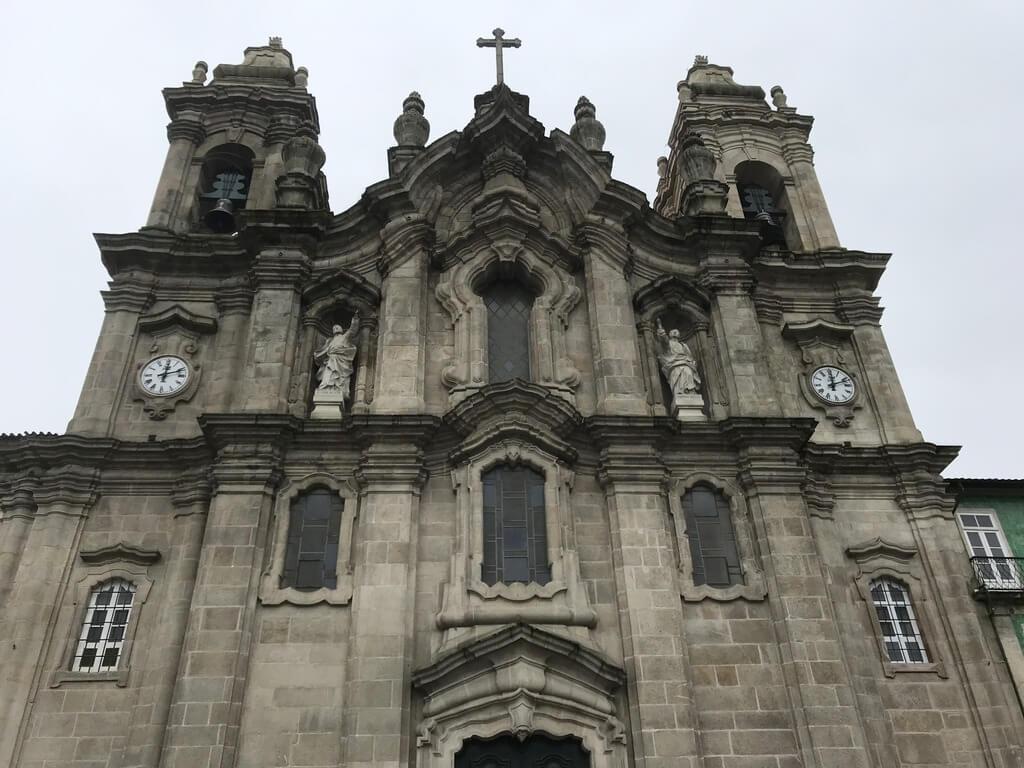 Fachada de la Basílica de los Congregados