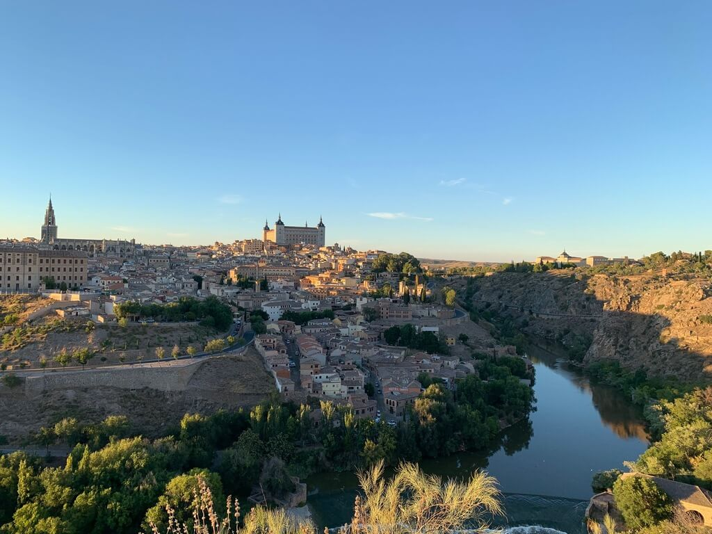El Tajo desde el Mirador del Valle