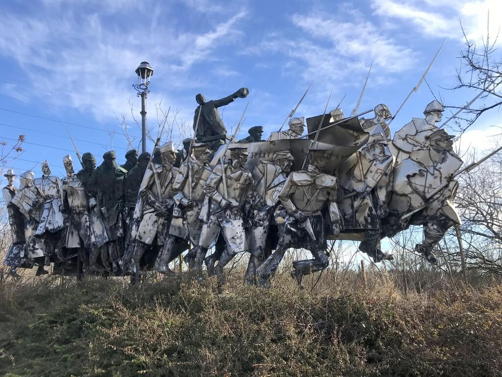 el memento park de Budapest