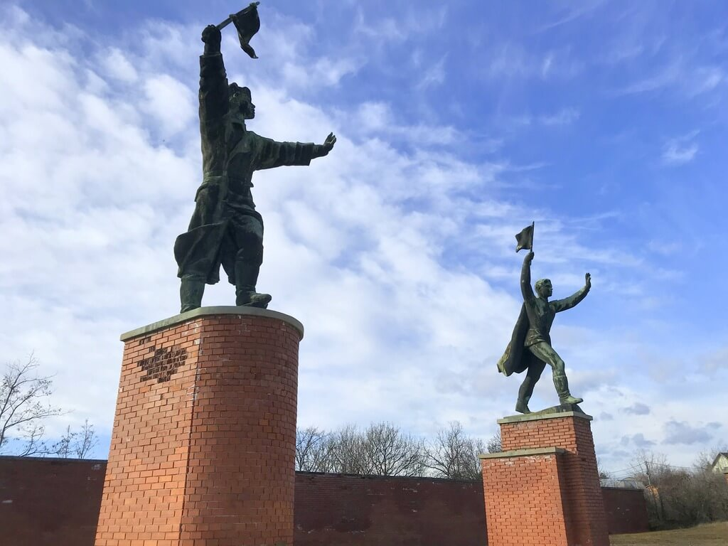 Estatuas del Memento Park