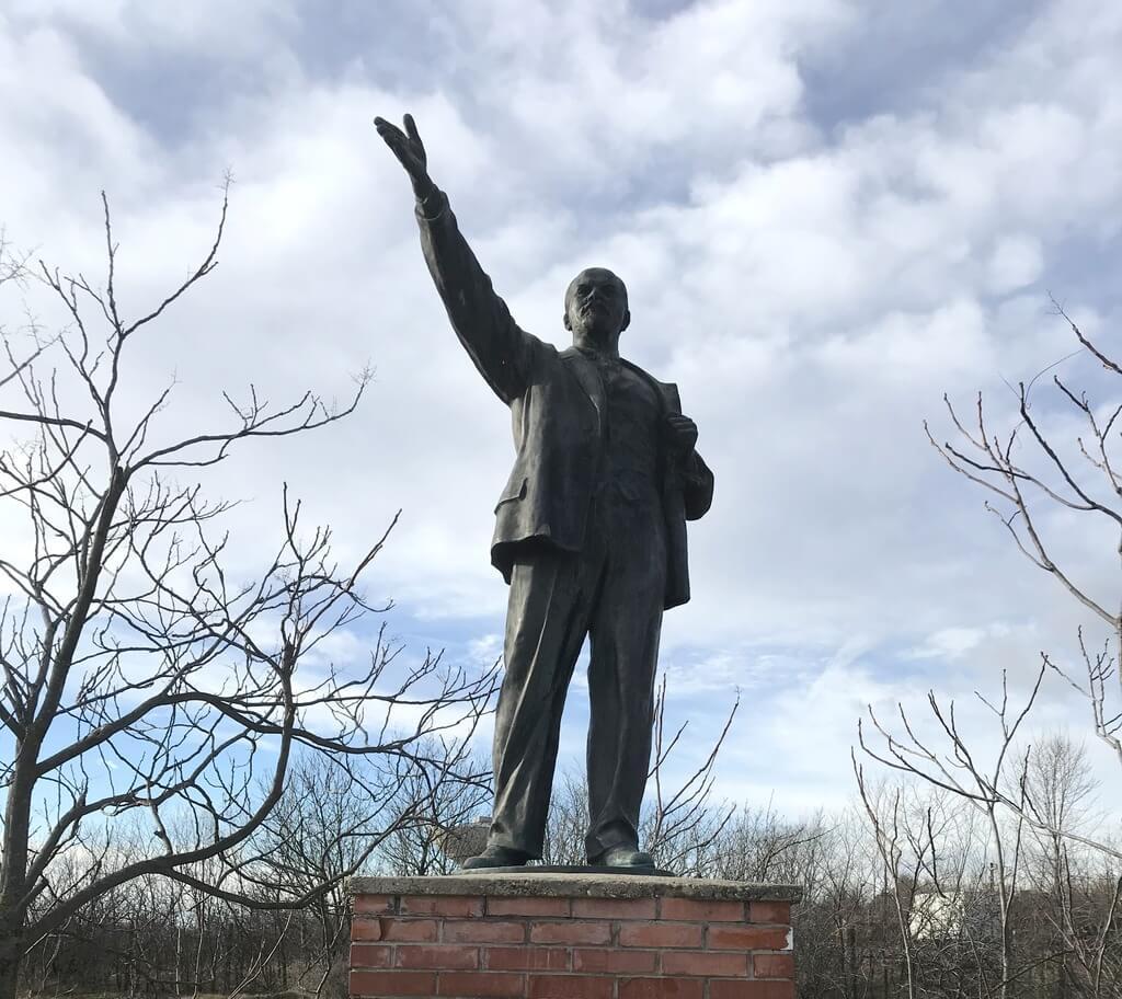 Lenin en el Memento Park
