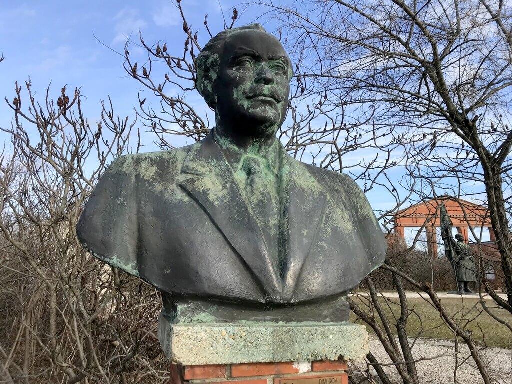 Busto de Dimitrov Memento Park de Budapest