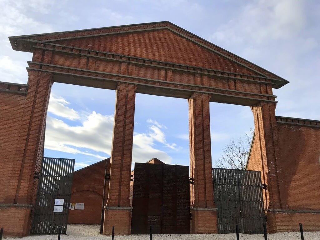 Puerta de entrada al Memento Park