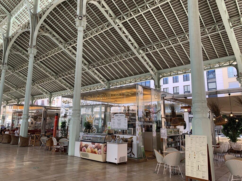 Tiendas del Mercado de Colón