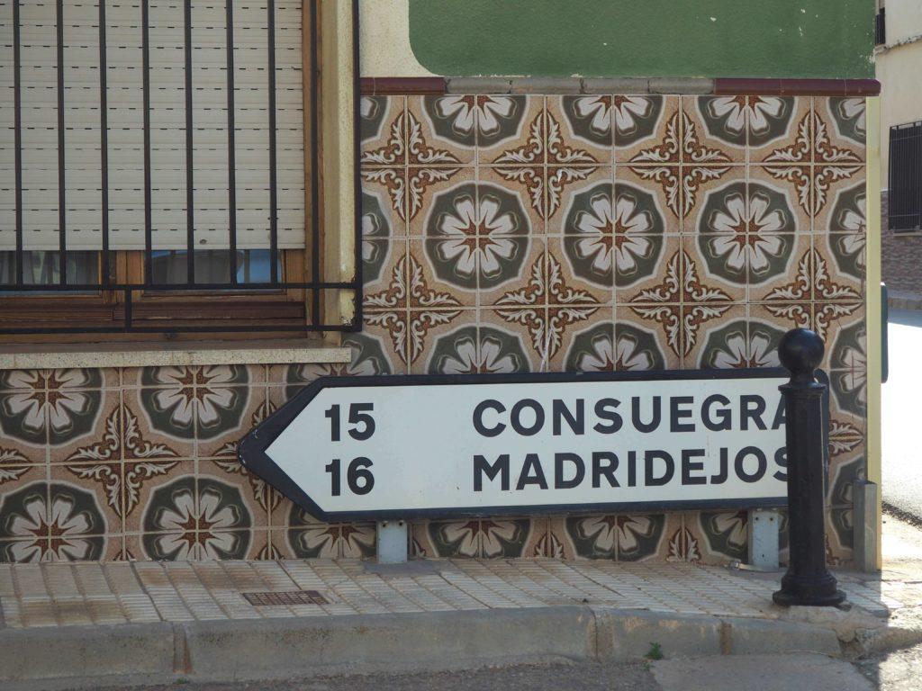 Llegando al pueblo de Consuegra
