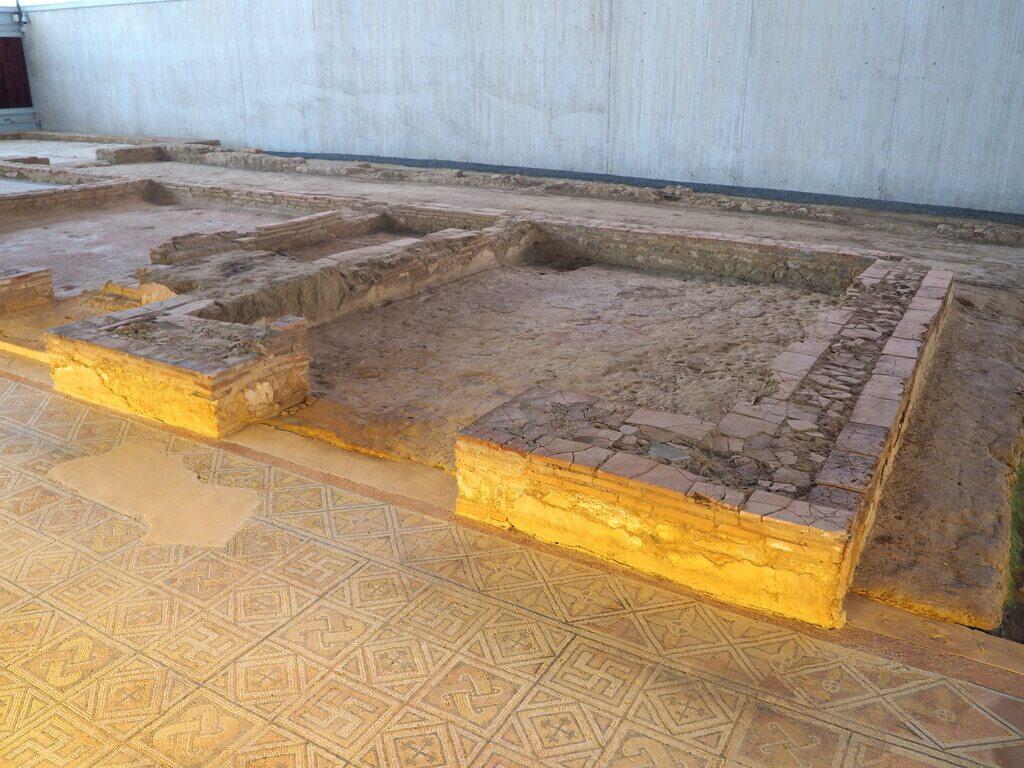 qué ver en la villa romana de La Olmeda