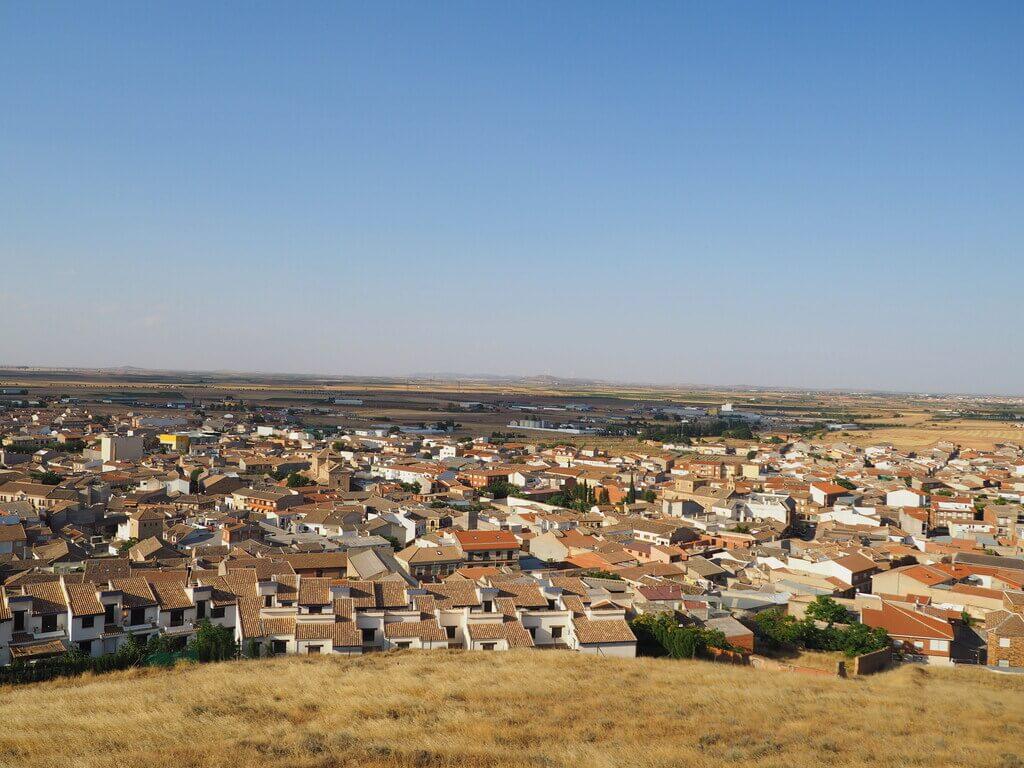 Consuegra desde el Cerro Calderico