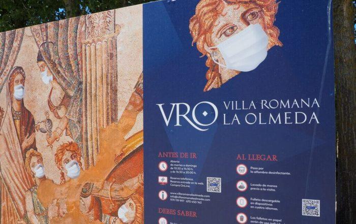 la villa romana de la Olmeda