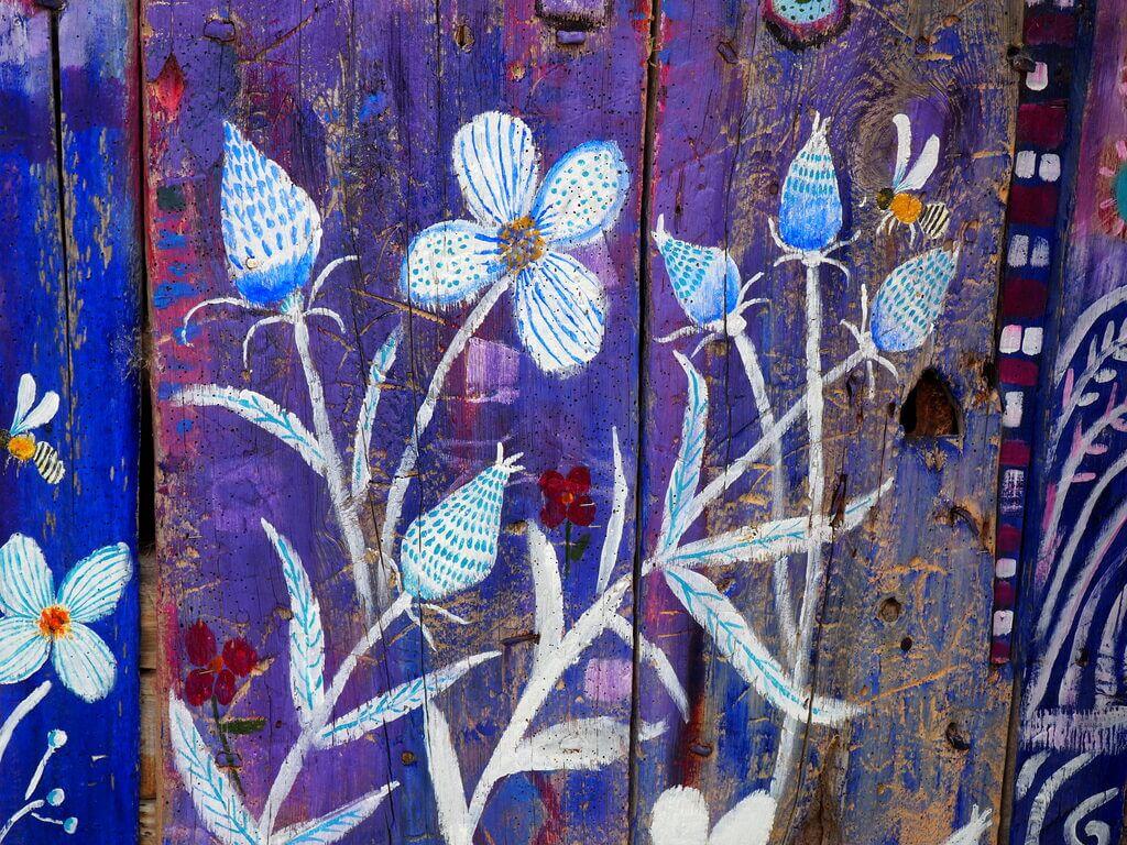 Las bonitas flores de La Bodega