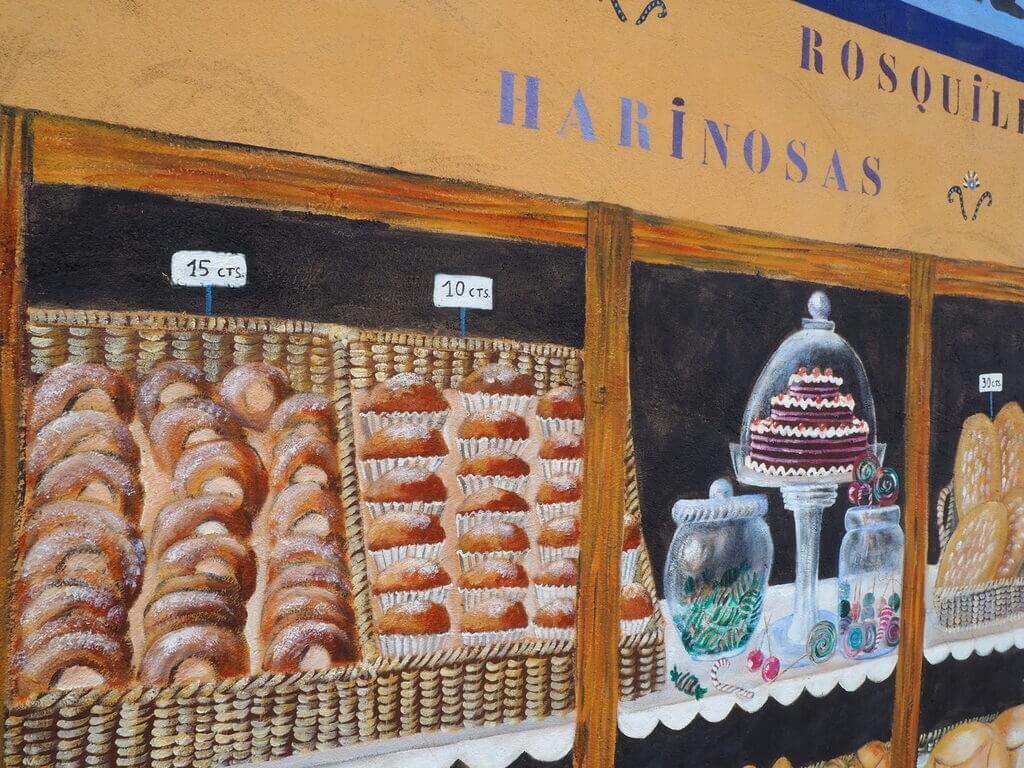 Las rosquillas de la Panadería