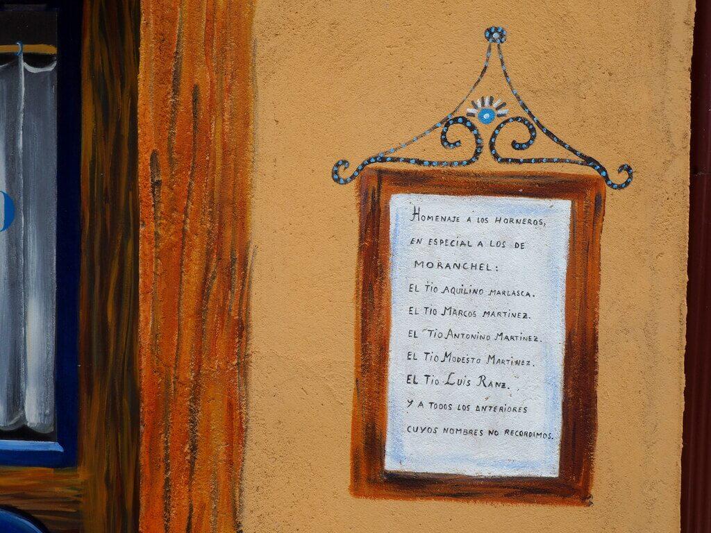 Listado de los horneros de Moranchel