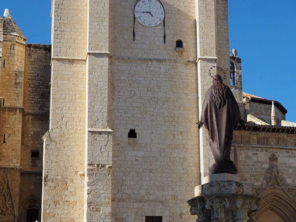 Detalle de la torre de la Catedral