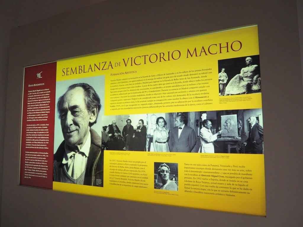 Interior museo Victorio Macho