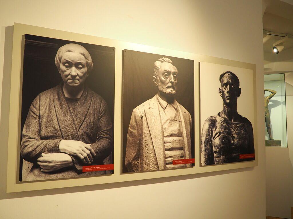 Fotos de algunas de sus esculturas