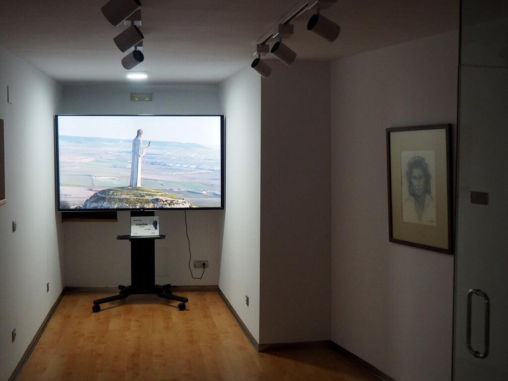 Sala de proyecciones del museo Victorio Macho