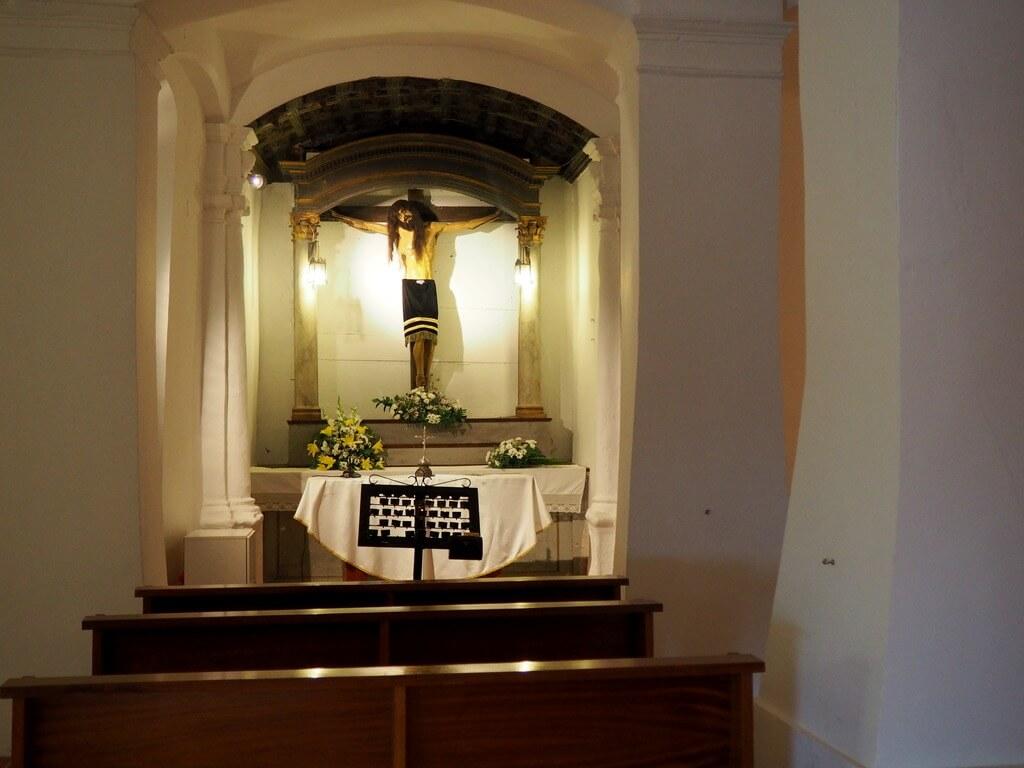 Retablo neoclásico de la ermita