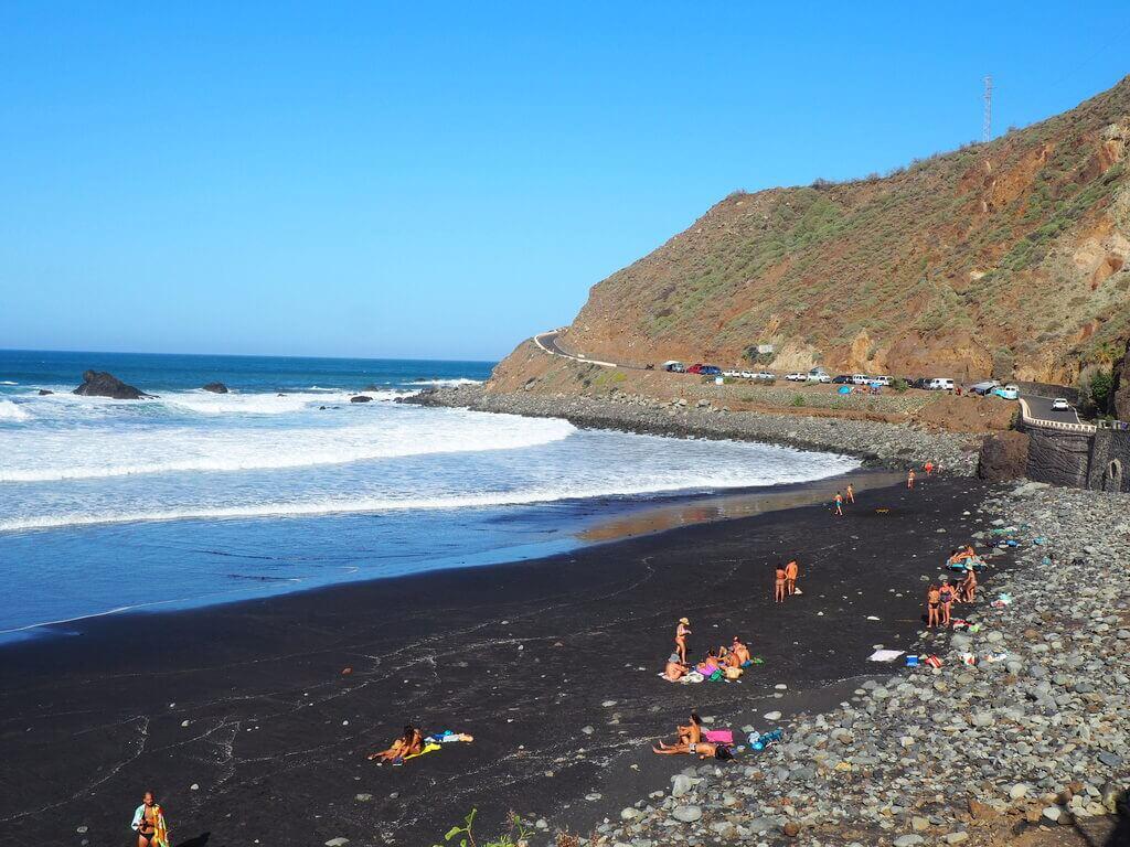 Playa de Almáciga, una de las grandes sorpresas de Anaga