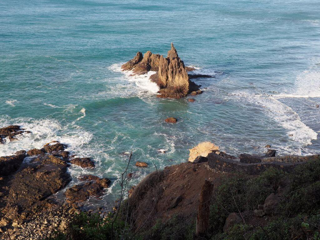 Oleaje en la playa de Benijo