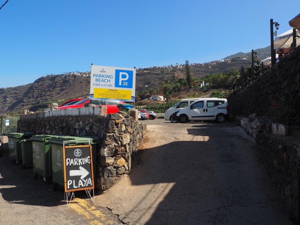 Parking del Restaurante El Bollullo