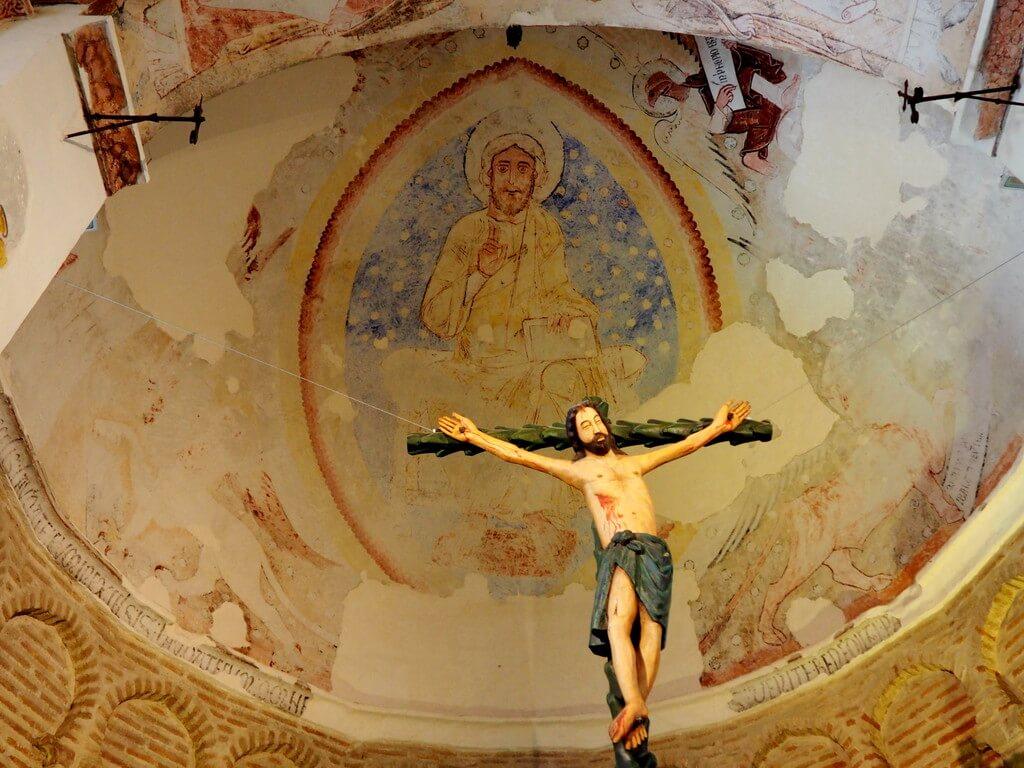 Recreación del Cristo de la Luz