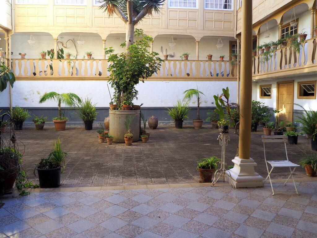 Patio interior de una casa señorial de La Orotava