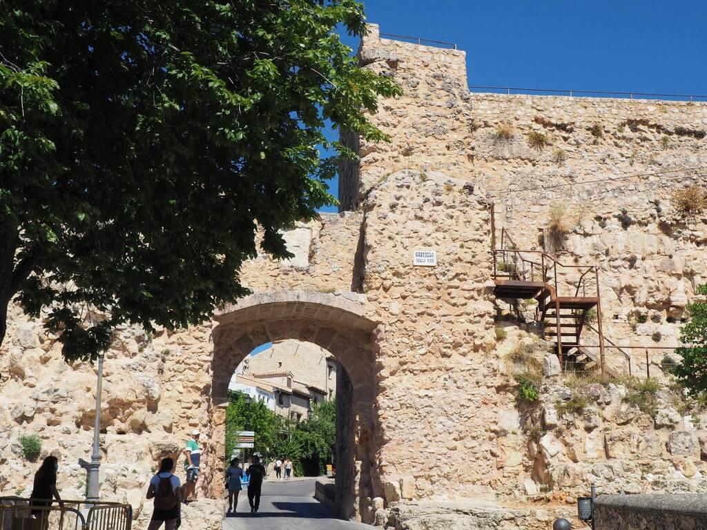 Ruinas del antiguo castillo de Cuenca