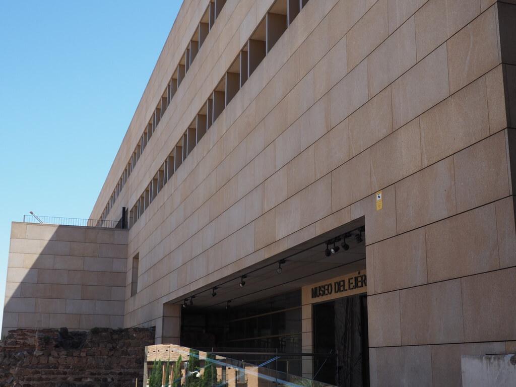 Entrada al Museo del Ejército