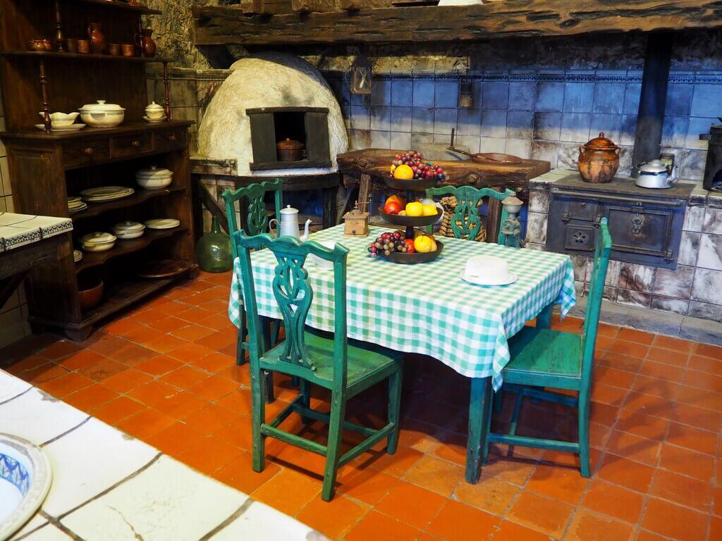 Cocina de la Casa de los Balcones