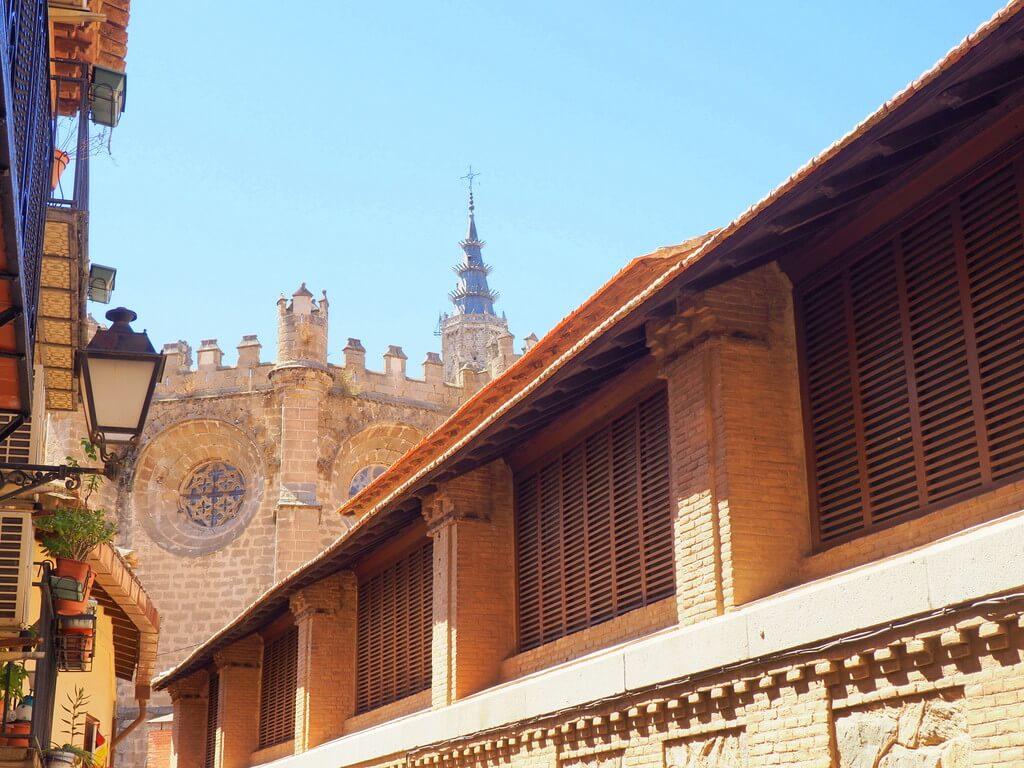Parte trasera de la Catedral de Toledo
