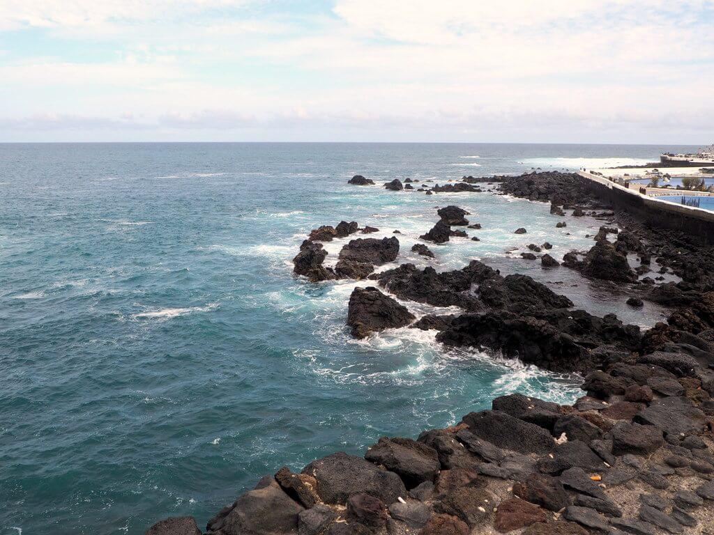 Playa de San Telmo desde el mirador de la ermita